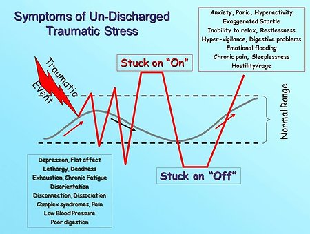 Somatic Experiencing. best undischarged